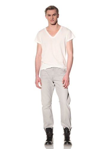 SPURR Men's Light Wash Jean (Grey)