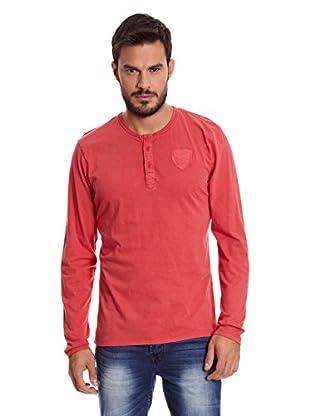 Paul Stragas Camiseta Manga Larga Randolph (Rojo)