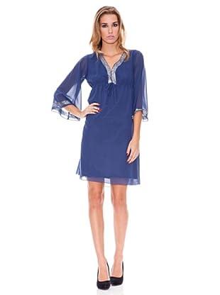 Tonalá Vestido Borgoña (Azul)