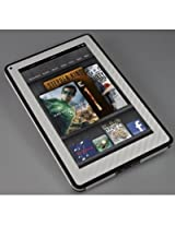 XGear EXOSkin Carbon Fiber Skin Fits Kindle Fire (White)