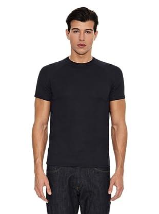 US Basics Camiseta Fit (Azul Marino)