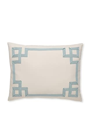 Tommy Bahama Plantation Twill Tape Decorative Breakfast Pillow (Aqua)