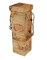 Artpapyrus Printed Paper Wine Box(Paper Cardboard,35.5x11.25x11.25cm,WB10375C)