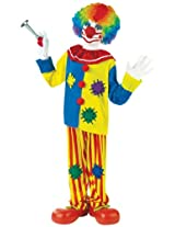 Big Boys Big Top Clown Costume Large (12-14)