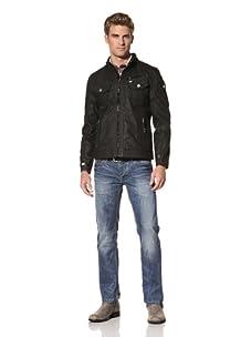 MOD Men's Light Zip-Up Jacket (Black)