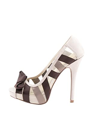 Rizzo Zapatos Top-Toe (Beige / Marrón)