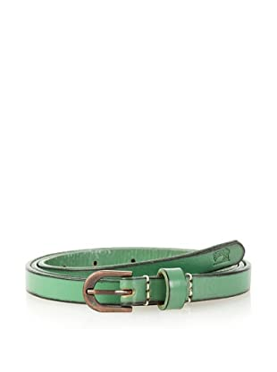 Scotch & Soda Men's Thin Coloured Belt (Green)