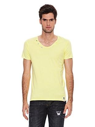 Six Valves Camiseta Manga Corta (Amarillo)