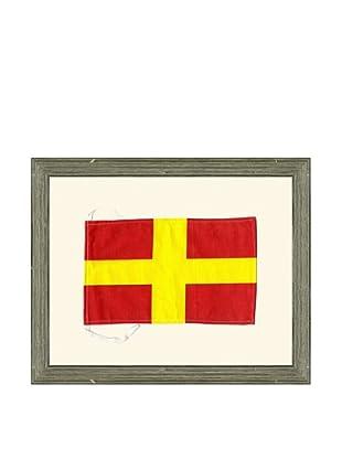 Framed Maritime Letter R