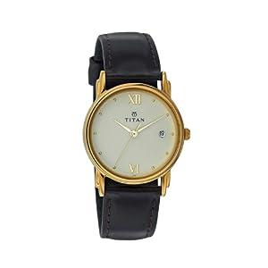 Titan 1445YL02 Wrist Watch - For Men