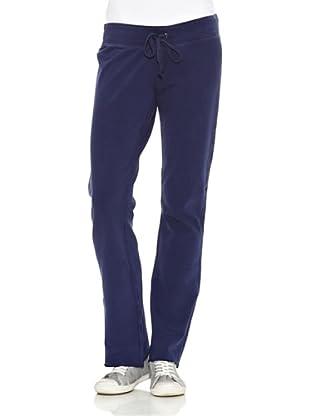 True Religion Pantalón Loose Talle Bajo 5 Bolsillos (Azul)