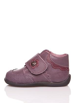 Pablosky Stiefel Blumen und Wellen (Lila)