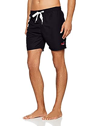 Superdry Shorts da Bagno Premium Waterpolo Short