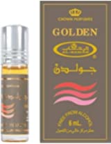 Golden 6ml (.2 Oz) Perfume Oil By Al Rehab (Crown Perfumes)