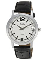 Timex Classics Analog White Dial Men's Watch - TI000T11000