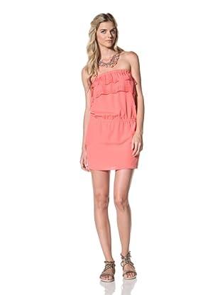 Susana Monaco Women's Belle Dress (Fire Coral)