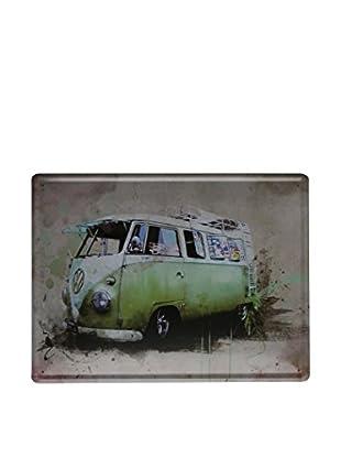 Lo+Demoda Wandbild Vintage Green Vw