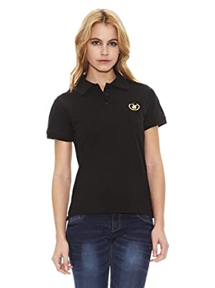 Polo Club Polo Manga Corta Regular Fit Classic (Negro)