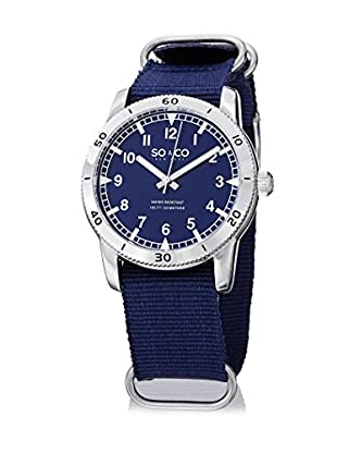 SO&CO NEW YORK Quarzuhr Yacht Club blau 42 mm