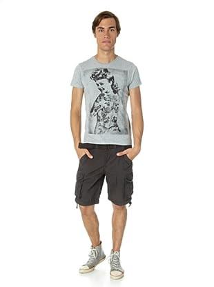 JACK & JONES Camiseta Jack Slim fit (Gris)