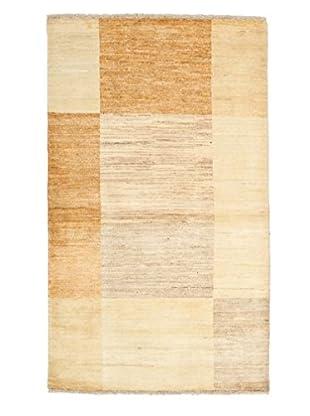 Darya Rugs Modern Oriental Rug, Stone/Ivory, 3' 2