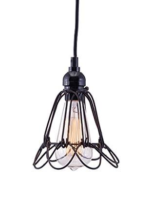 Zuo Hastings Ceiling Lamp, Distressed Black