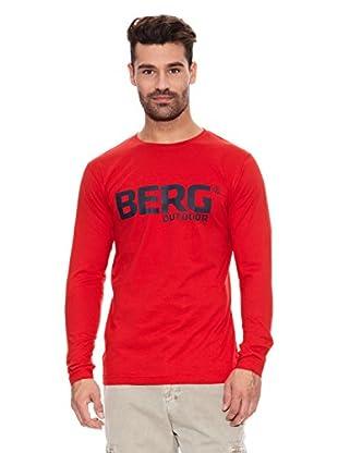 Berg Outdoor Camiseta Manga Larga Jsy (Rojo)