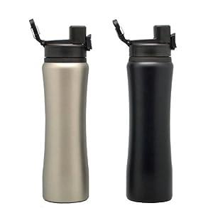 Omada Stainless Steel Water Bottle Double Lock Lid 800ml (SS-20631)
