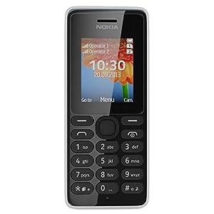 Nokia 108 (Dual SIM, White)