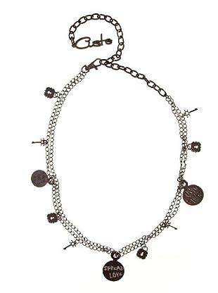 Custo Cinturón Sabd (plata envejecida)