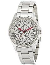 Timex Fashion Analog Silver Dial Women's Watch - TI000O40000