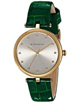Giordano Analog Silver Dial Women's Watch - A2038-03