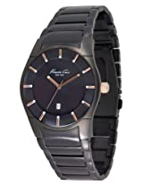 Kenneth Cole Analog Black Dial Men's Watch IKC3900