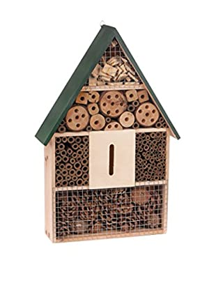 Skalny Wooden Bug House, Tan /Green