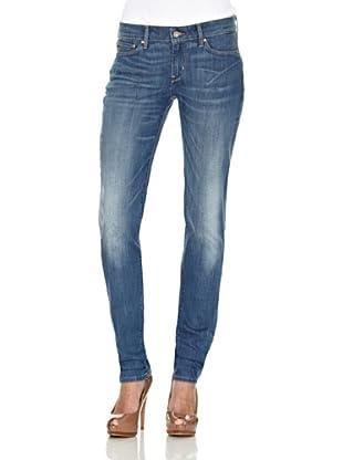 Levi´s Jeans Modern Slight Curve ID Skinny (Real Blue)