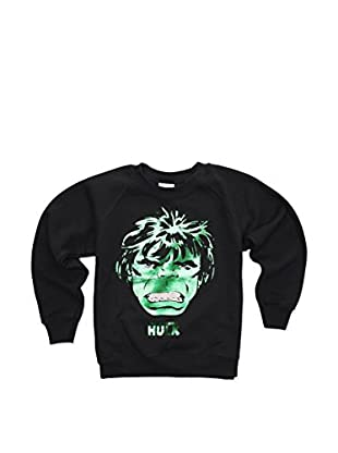 MARVEL Sweatshirt Hulk Face Distress Foil