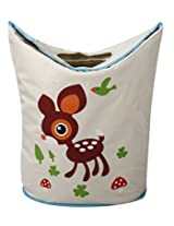 UberLyfe Foldable Bambi Laundry Bag cum Storage Box for Kids - Large