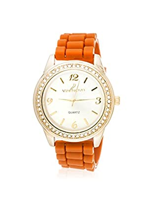 VIANOVA Women's NWR311924G-OR-Z Orange Stainless Steel Watch