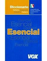 Diccionario esencial Italiano-Spanolo, Espanol-Italiano / Essential Italian-Spanish, Spanish-Italian Dictionary