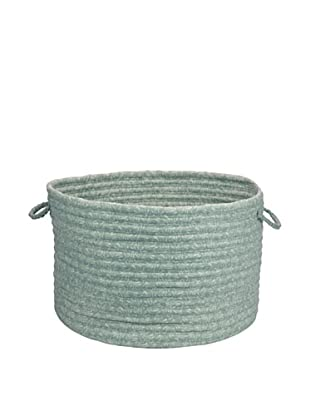 Colonial Mills Solid Fabric Print Basket (Seafoam)
