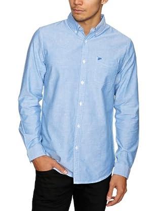 Lee Camisa Cleburne (Azul)