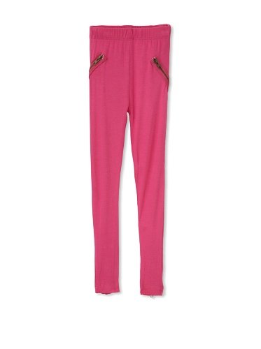 Tiny Pants Girl's Jersey Stitched Legging (Watermelon)