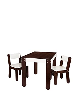 P'kolino Little One's Table and Chairs, Café con Leche