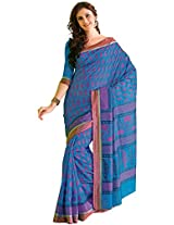 Orbymart Exclusive Designer Raw Silk Multi Colour Printed Saree - 55253366