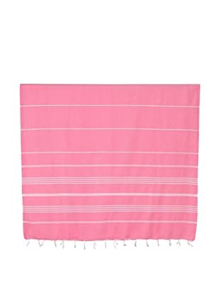 Nine Space Ayrika Collection Stripes Fouta Towel (Coral)