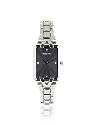 Valentino Women's V36SBQ9909 Gemme Rectangular Black Dial Diamond Watch