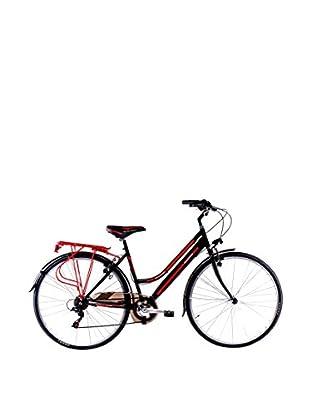 SCHIANO Fahrrad 28 Trekking 30 06V 704 schwarz/rot