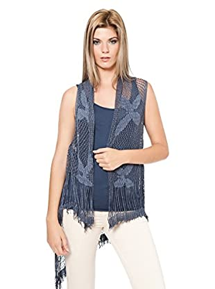 Laura Moretti Chaleco Crochet