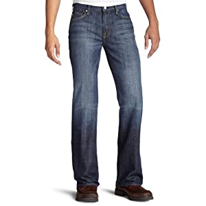 7 For All Mankind Men's Classic Bootcut Jean in New York Dark, NY Dark, 38x32