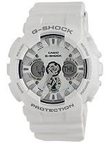 Casio G-Shock Analog-Digital White Dial Men's Watch - GA-120A-7ADR (G347)